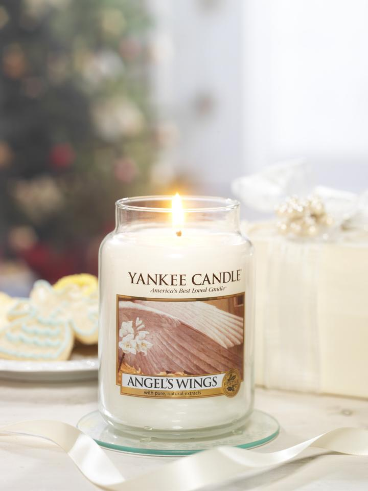 ANGEL'S WINGS -Yankee Candle- Candela Sampler