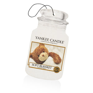 SOFT BLANKET -Yankee Candle- Car Jar