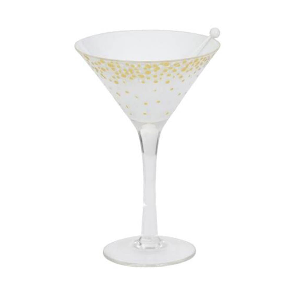 HOLIDAY PARTY -Yankee Candle- Porta Tea Light Martini