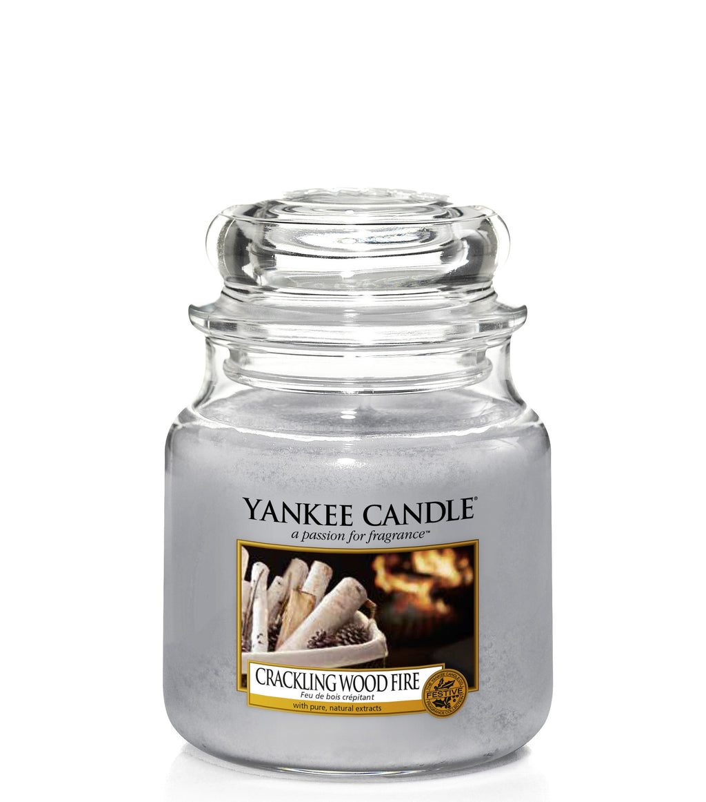 CRACKLING WOOD FIRE -Yankee Candle- Giara Media