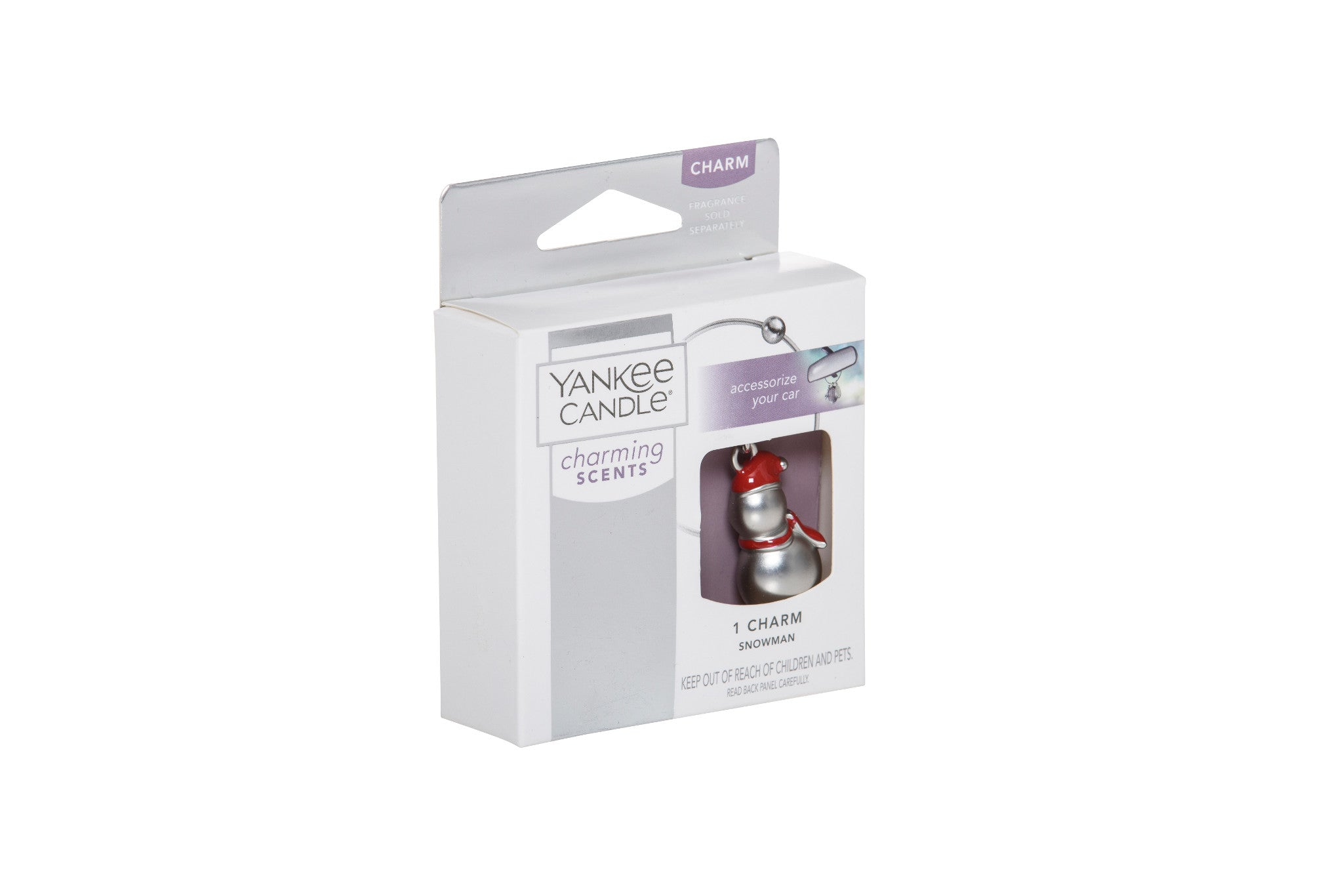 SNOWMAN -Yankee Candle- Charming Scents Ciondolo