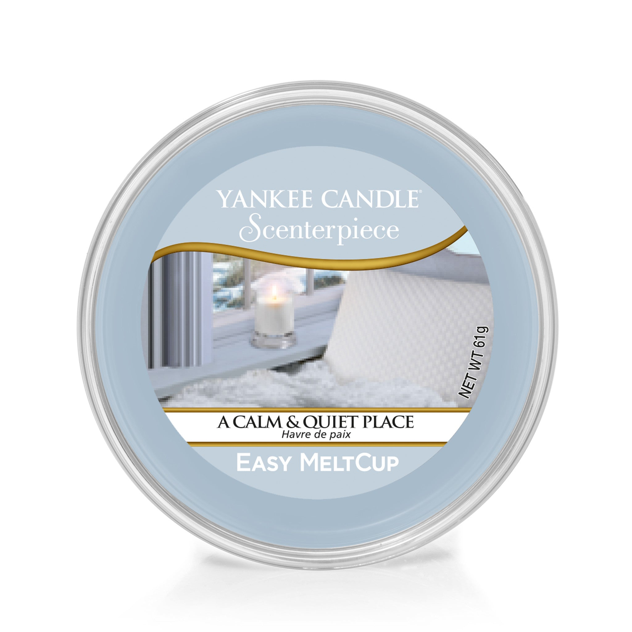 A CALM & QUIET PLACE -Yankee Candle- Easy MeltCup