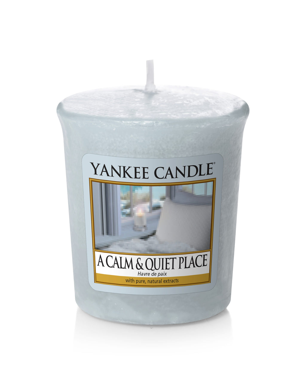 A CALM & QUIET PLACE -Yankee Candle- Candela Sampler