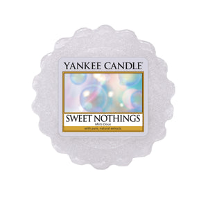 SWEET NOTHINGS -Yankee Candle- Tart