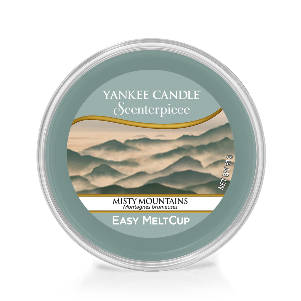 MISTY MOUNTAINS -Yankee Candle- Easy MeltCup