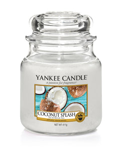 COCONUT SPLASH -Yankee Candle- Giara Media