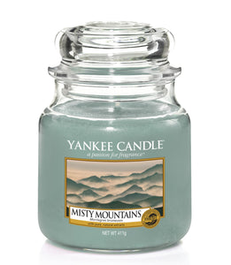 MISTY MOUNTAINS -Yankee Candle- Giara Media