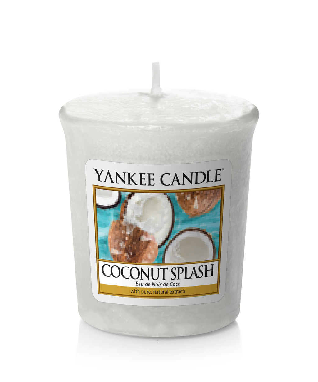 COCONUT SPLASH -Yankee Candle- Candela Sampler