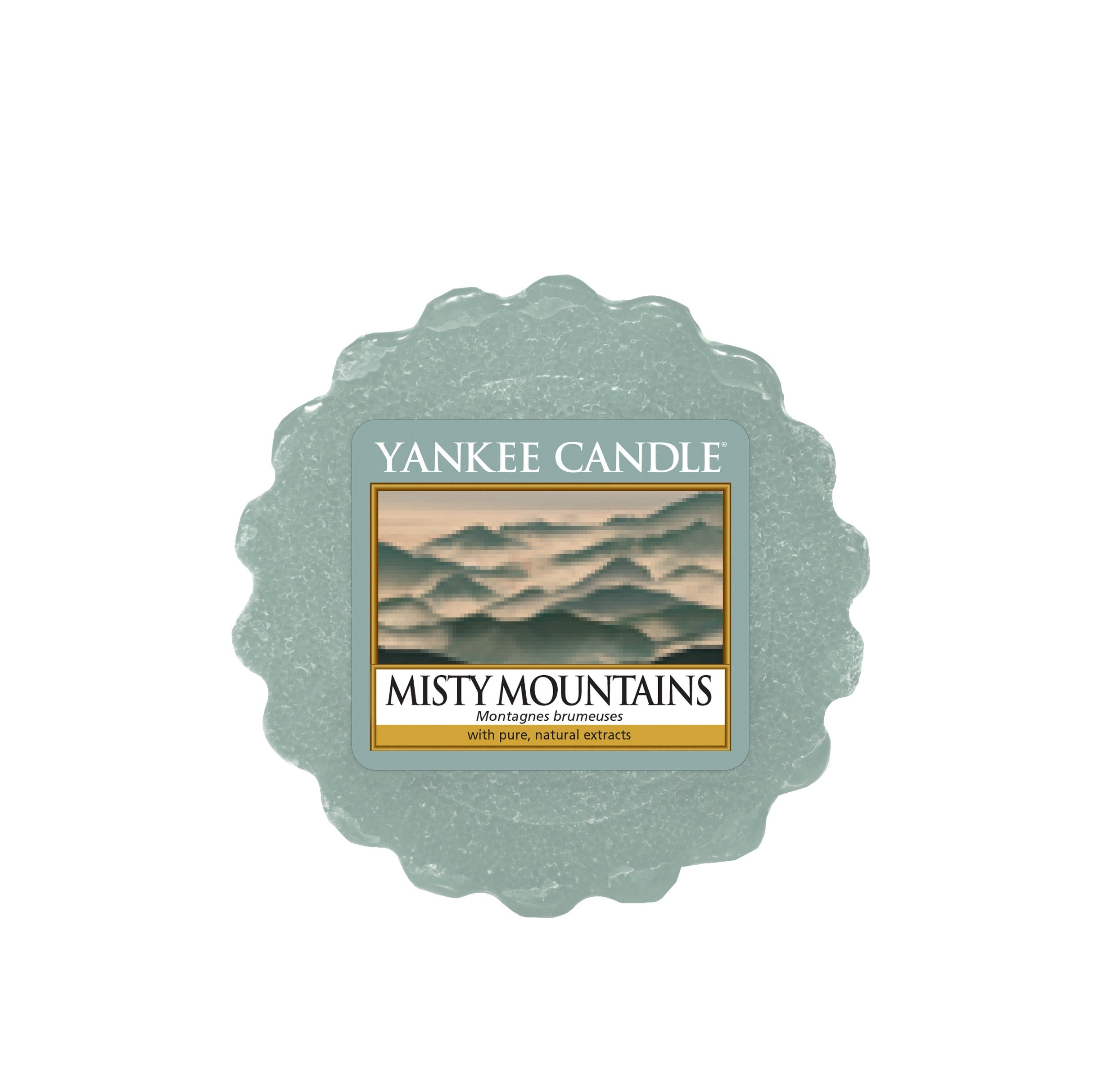 MISTY MOUNTAINS -Yankee Candle- Tart