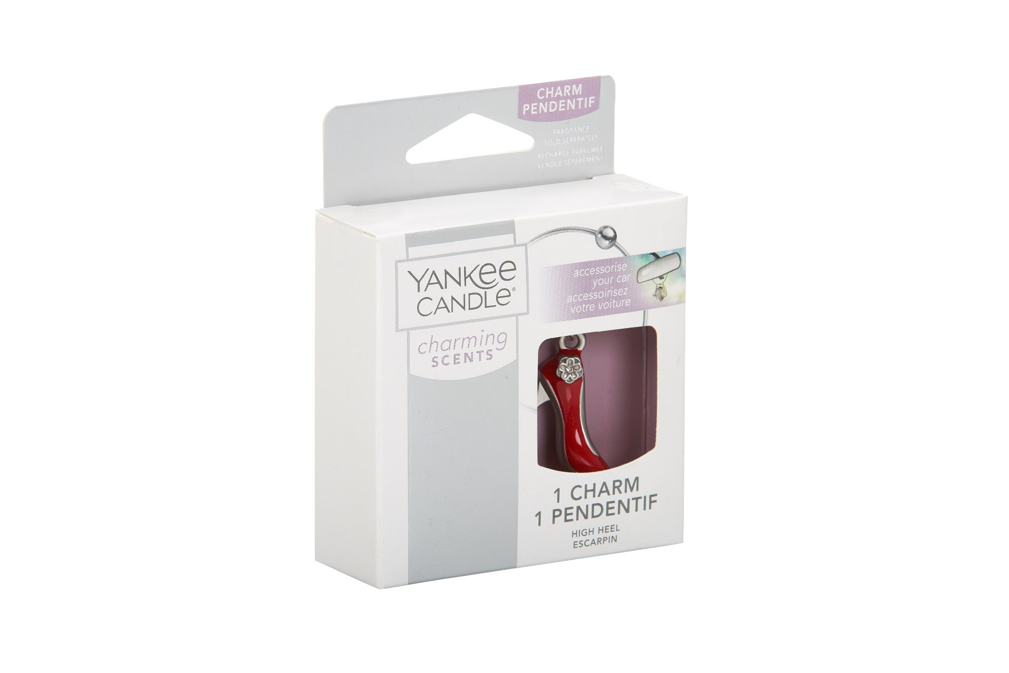 HIGH HEEL -Yankee Candle- Charming Scents Ciondolo
