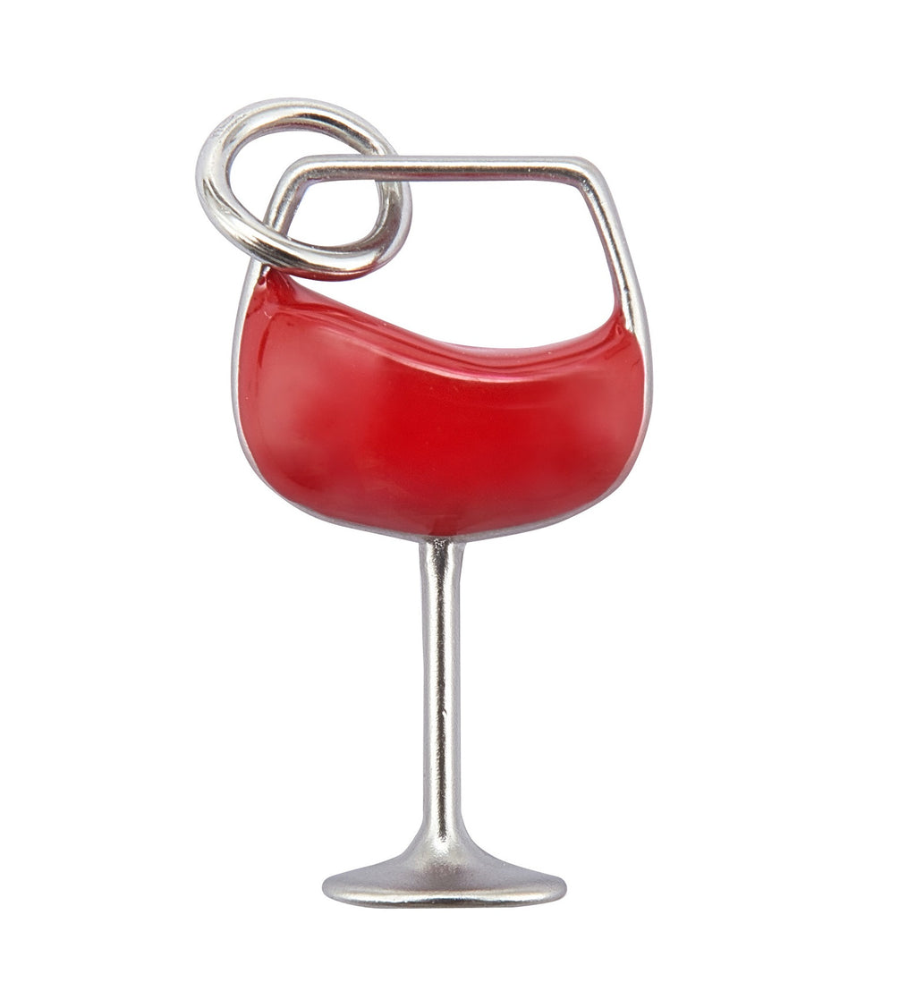 WINE GLASS -Yankee Candle- Charming Scents Ciondolo