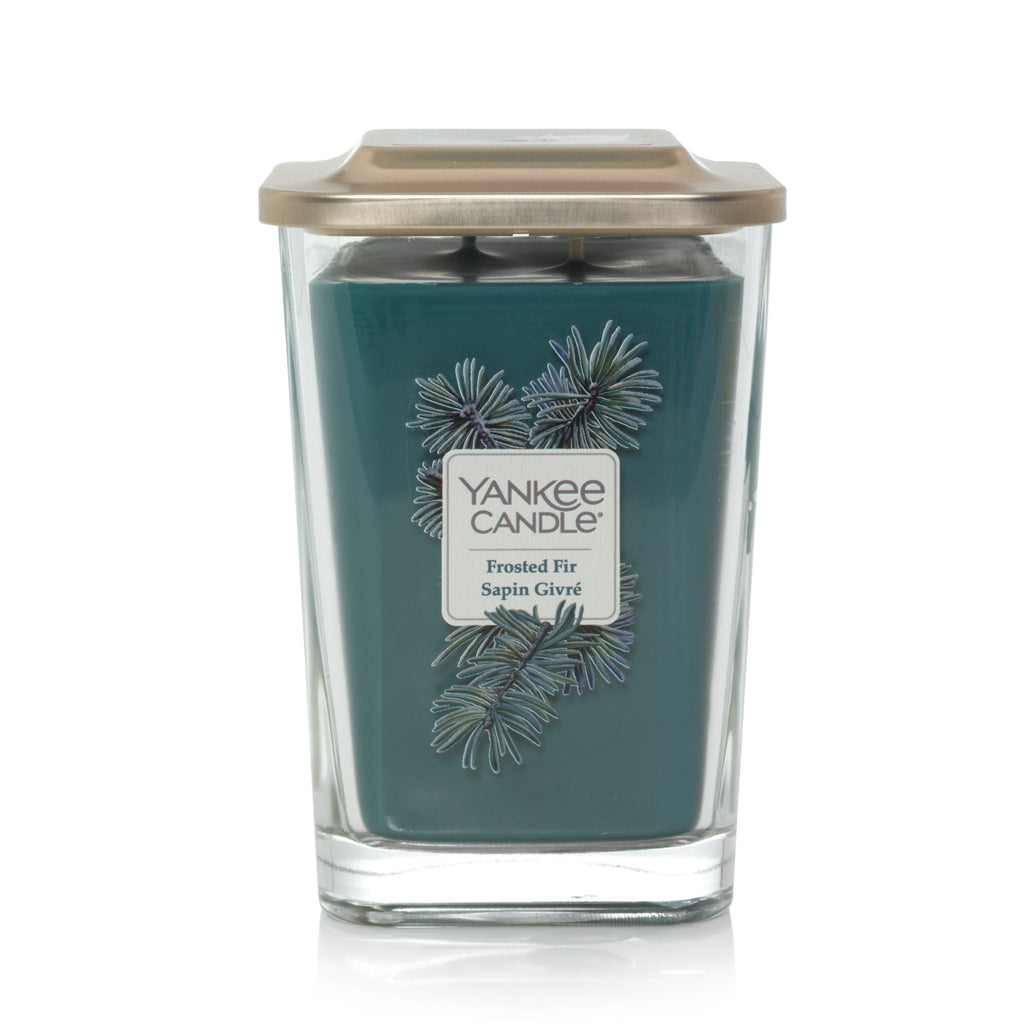 FROSTED FIR -Yankee Candle- Candela Grande
