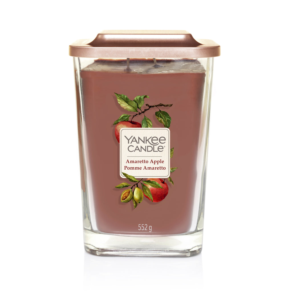 AMARETTO APPLE -Yankee Candle- Candela Grande