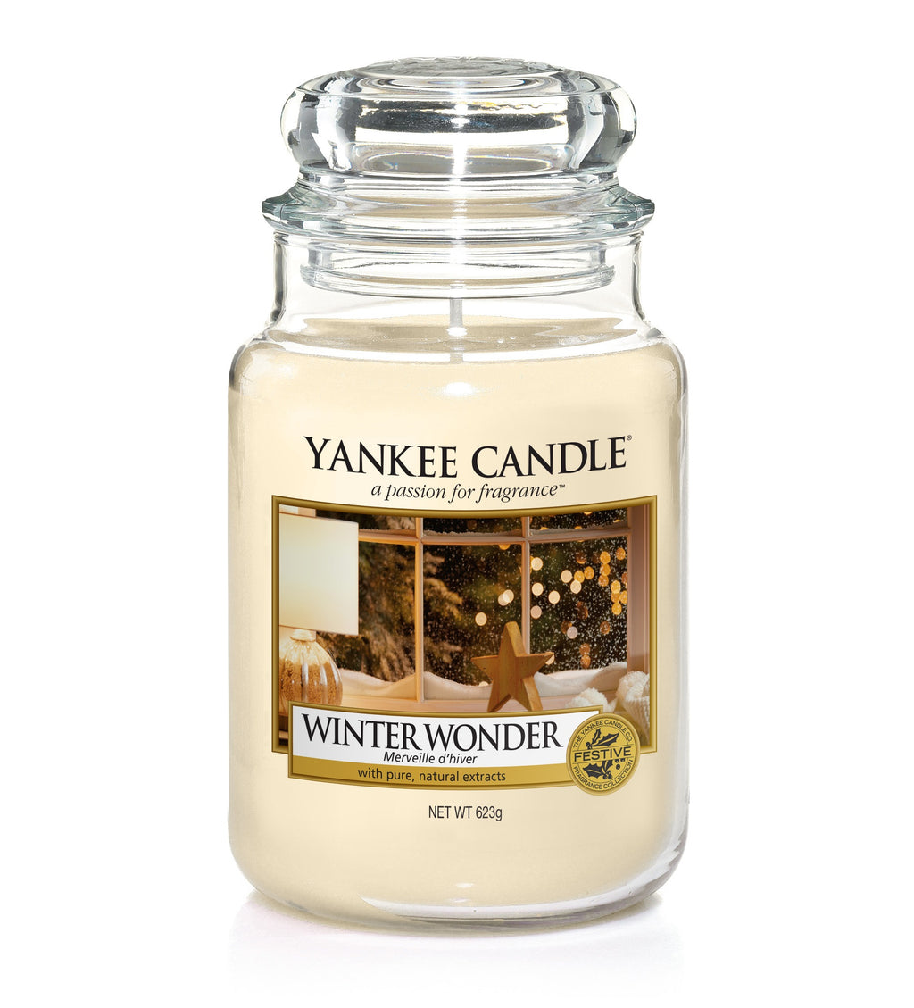 WINTER WONDER -Yankee Candle- Giara Grande
