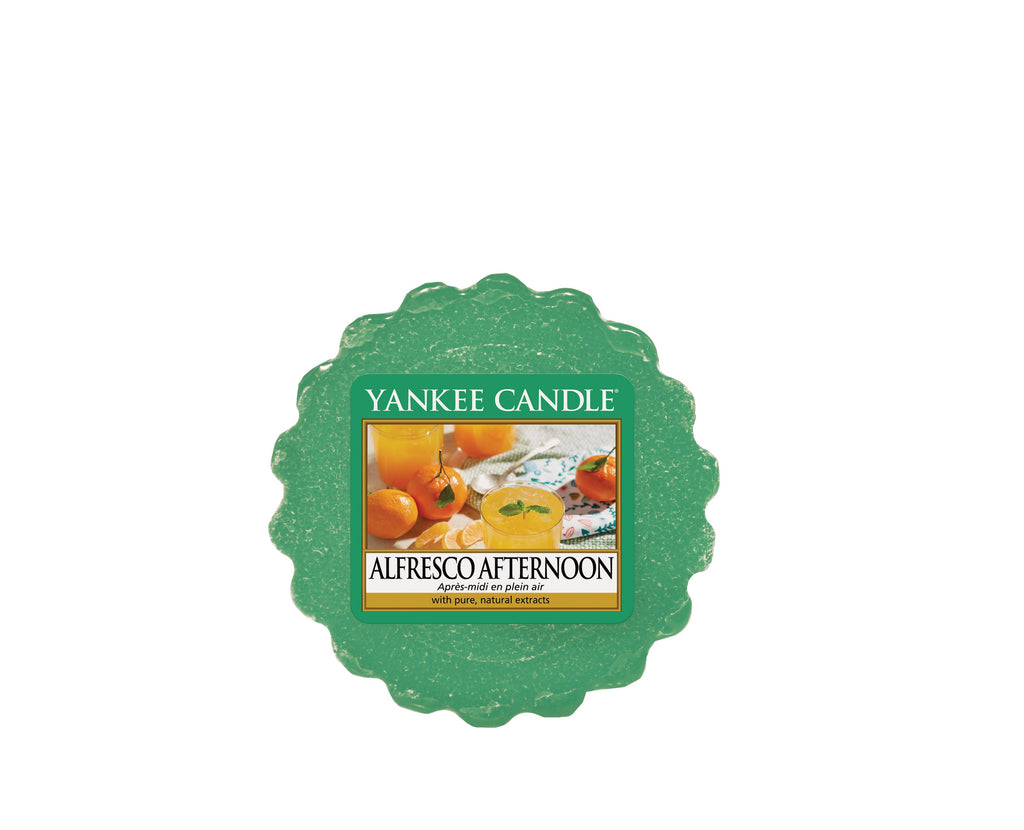 ALFRESCO AFTERNOON -Yankee Candle- Tart