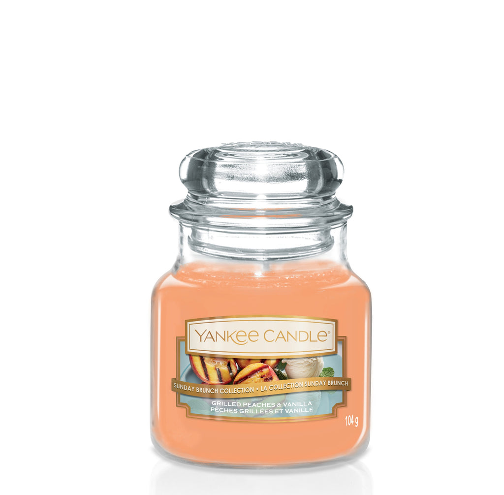 GRILLED PEACHES & VANILLA -Yankee Candle- Giara Piccola