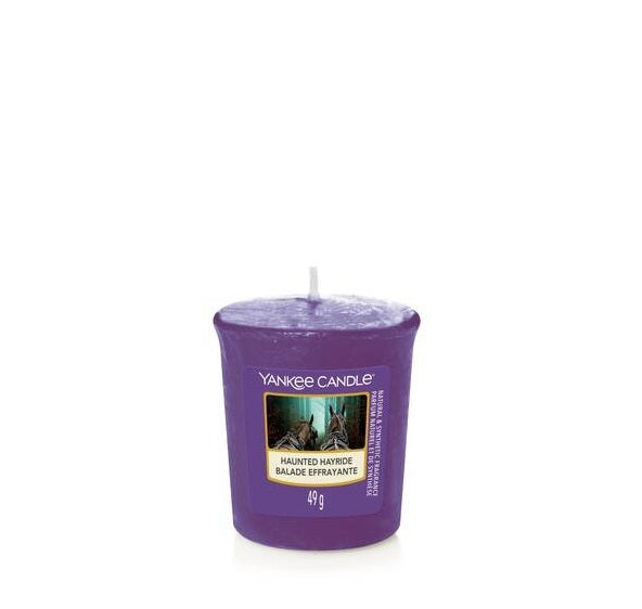 HAUNTED HAYRIDE -Yankee Candle- Candela Sampler