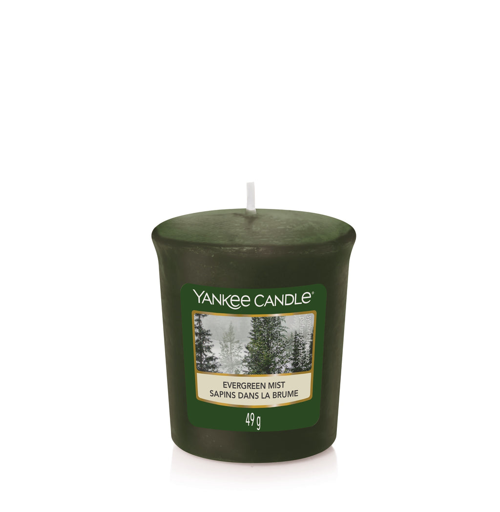 EVERGREEN MIST -Yankee Candle- Candela Sampler