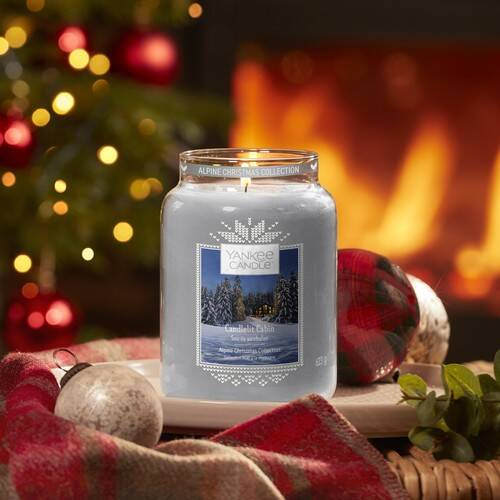 CANDLELIT CABIN -Yankee Candle- Charming Scents Ricarica di Fragranza