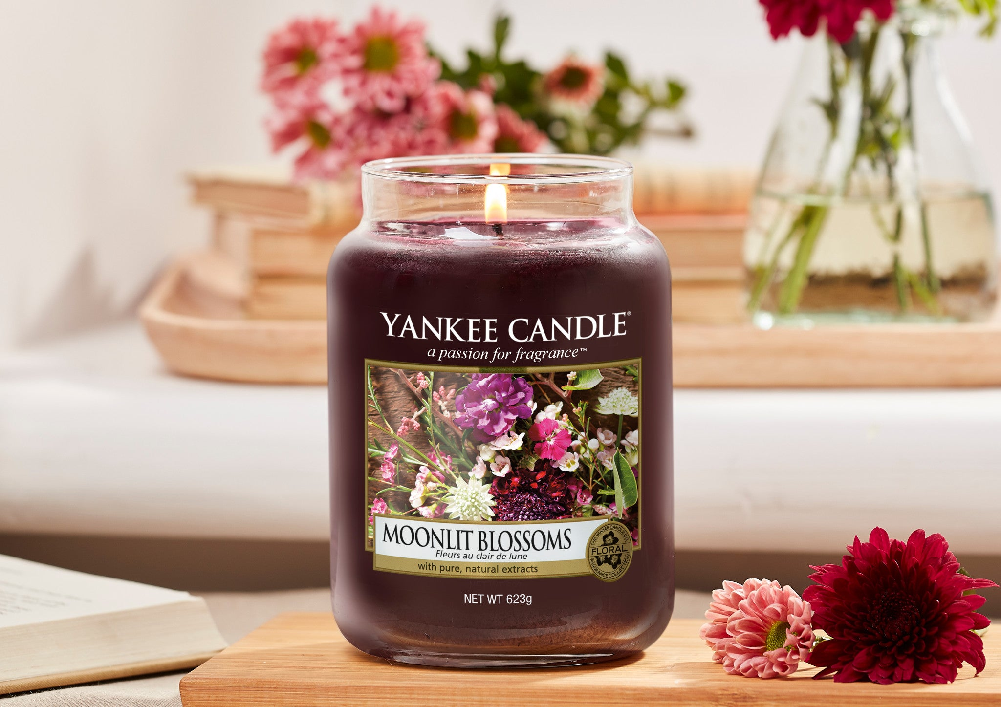 MOONLIT BLOSSOMS -Yankee Candle- Giara Media