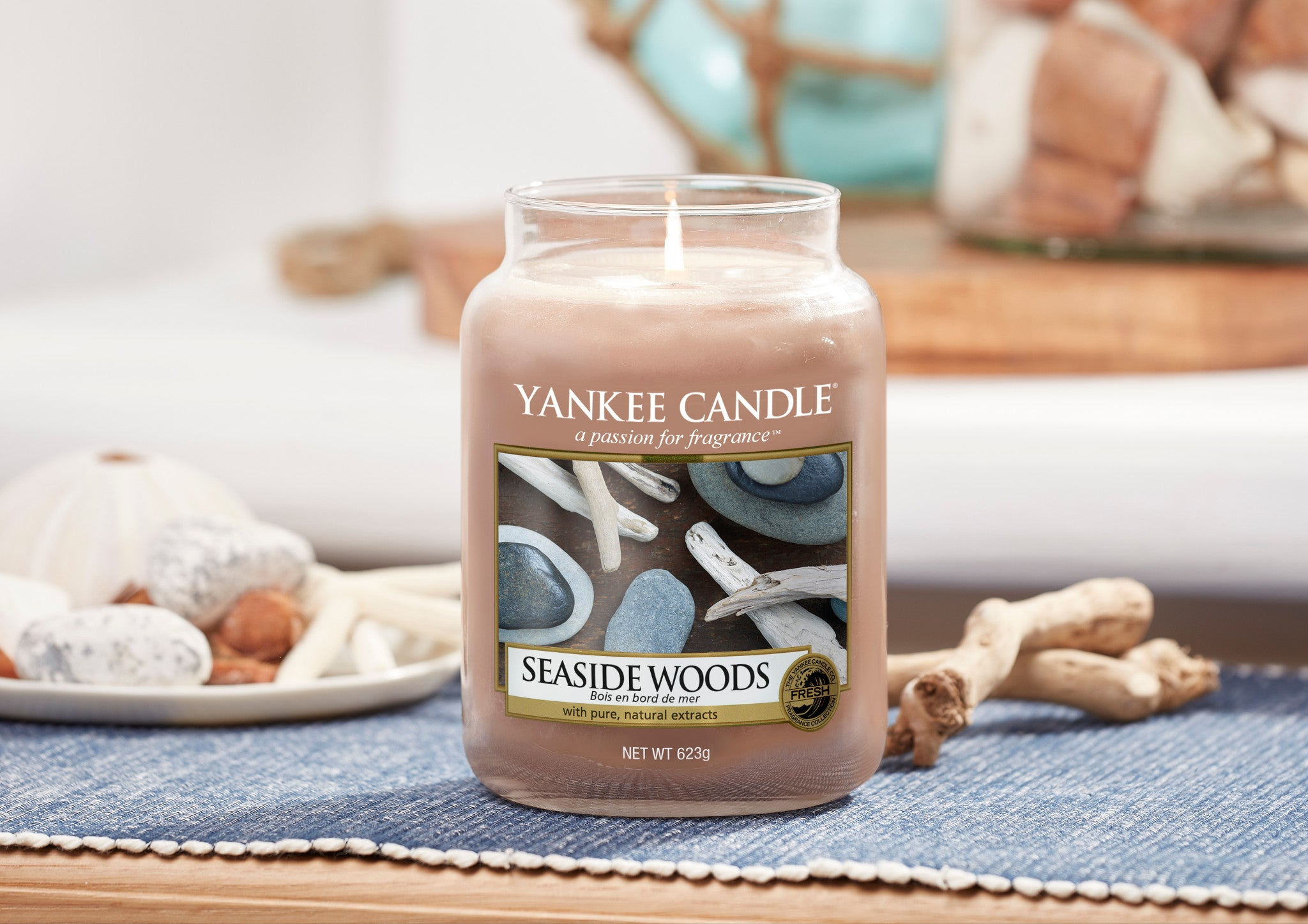 SEASIDE WOODS -Yankee Candle- Tea Light