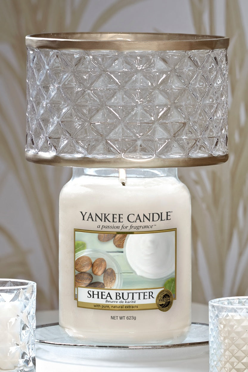 LANGHAM -Yankee Candle- Paralume e Piatto Grande