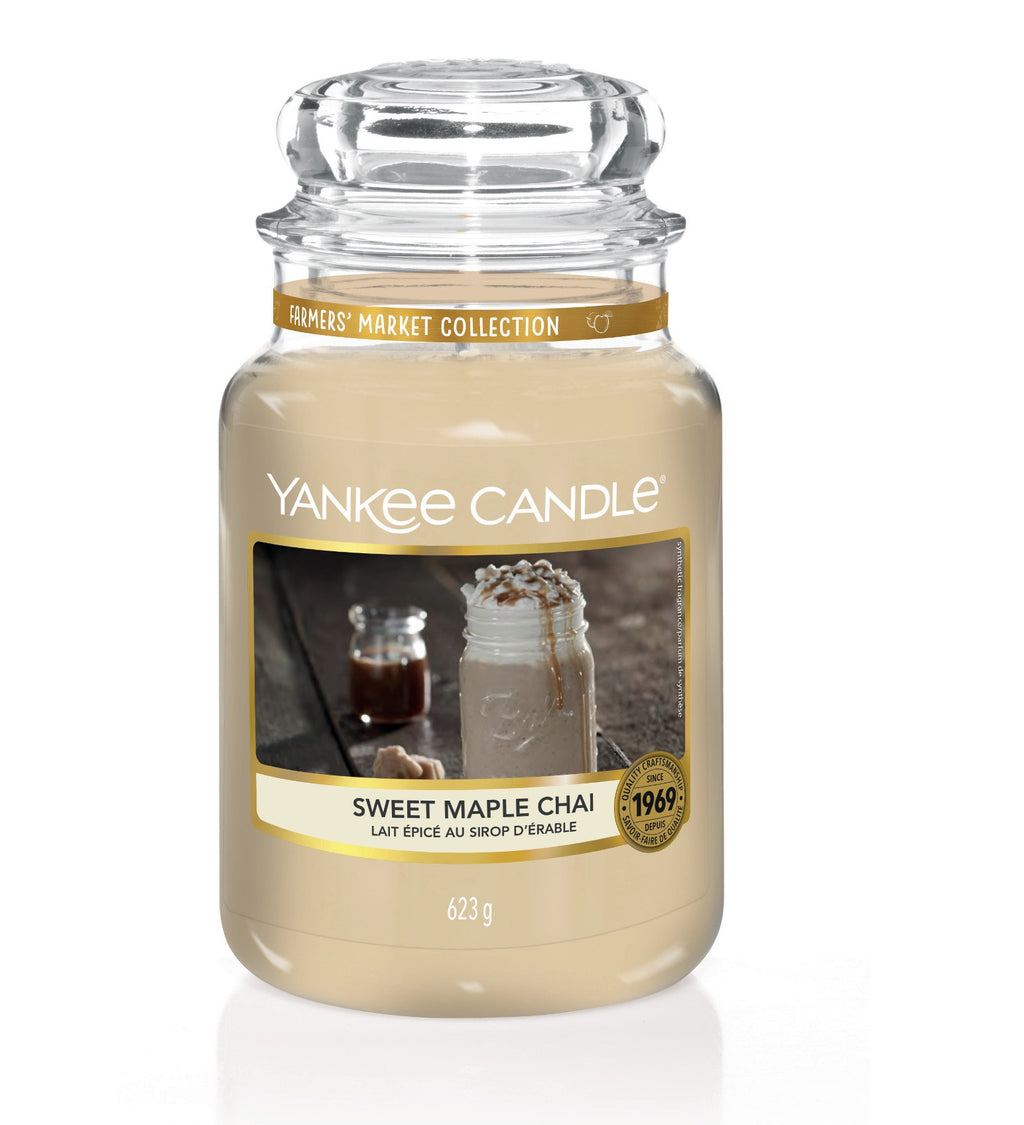 SWEET MAPLE CHAI -Yankee Candle- Giara Grande