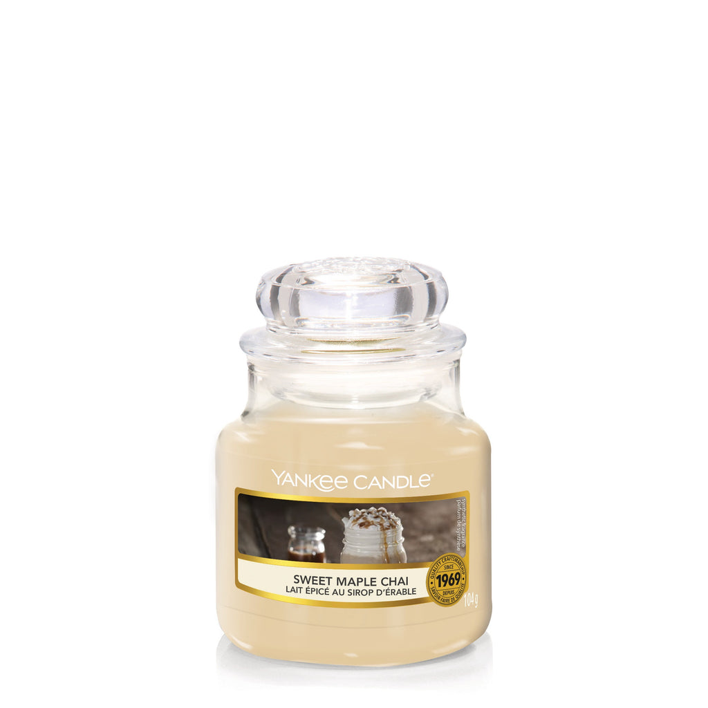 SWEET MAPLE CHAI -Yankee Candle- Giara Piccola