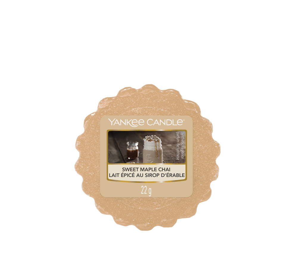 SWEET MAPLE CHAI -Yankee Candle- Tart