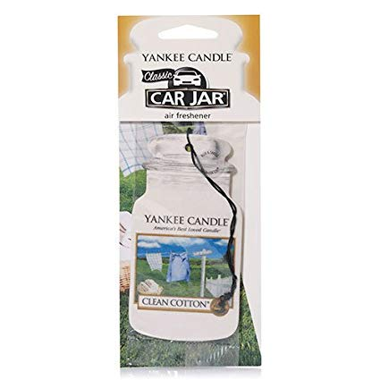 CLEAN COTTON -Yankee Candle- Car Jar