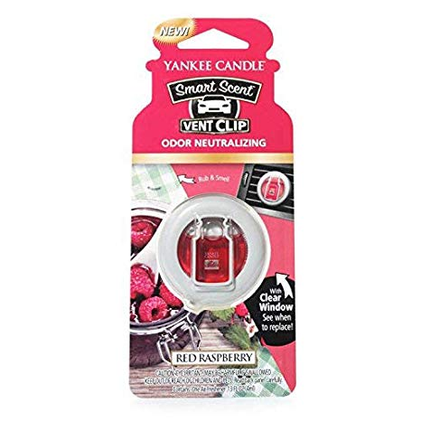 RED RASPBERRY -Yankee Candle- Smart Scent Vent Clip