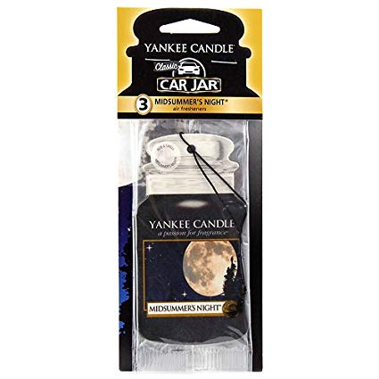 MIDSUMMER'S NIGHT -Yankee Candle- Car Jar