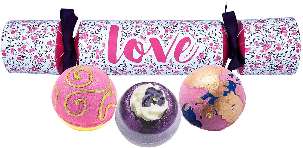 LOVE CRACKER -Bomb Cosmetics- Christmas Cracker Confezione Regalo