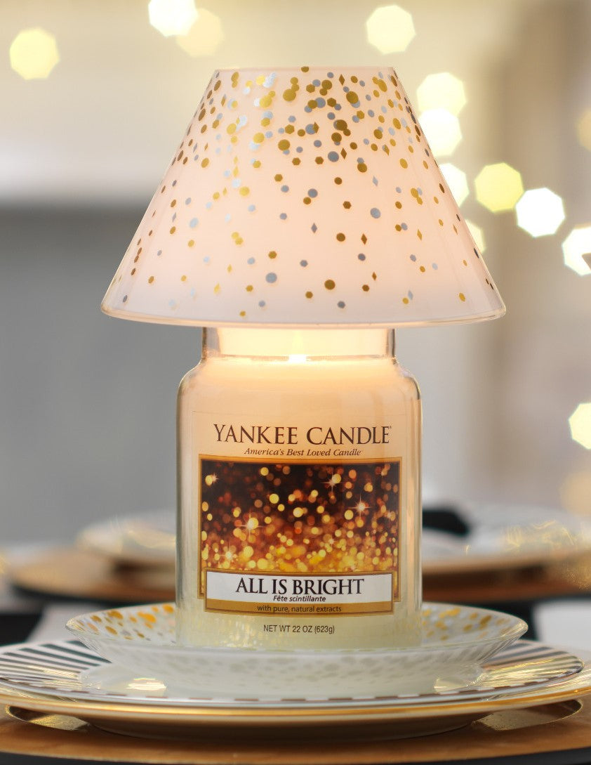 HOLIDAY PARTY -Yankee Candle- Paralume e Piatto Grande