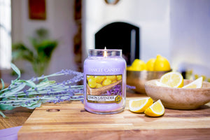 LEMON LAVENDER -Yankee Candle- Giara Media