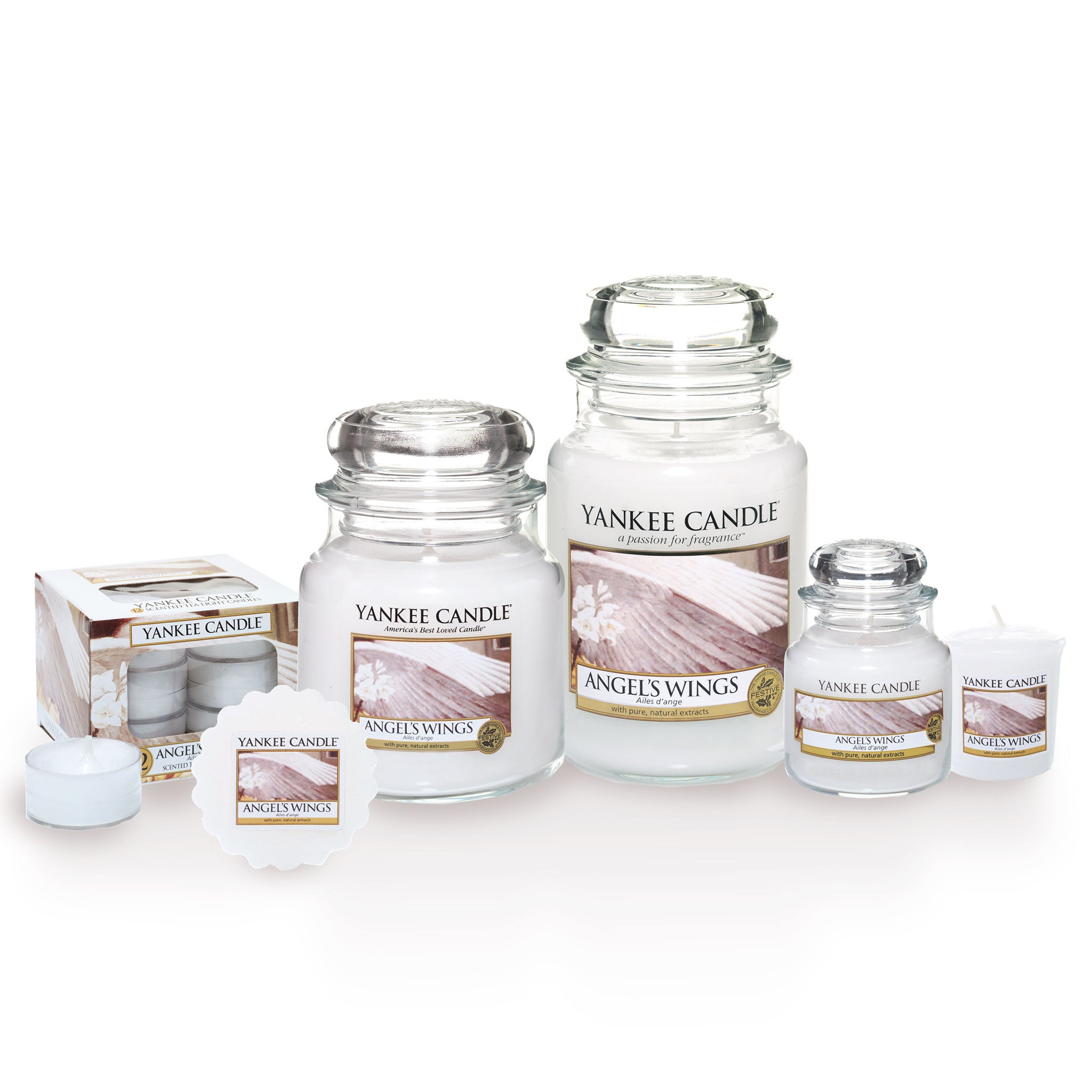 ANGEL'S WINGS -Yankee Candle- Giara Grande