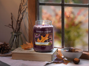 AUTUMN GLOW -Yankee Candle- Giara Media