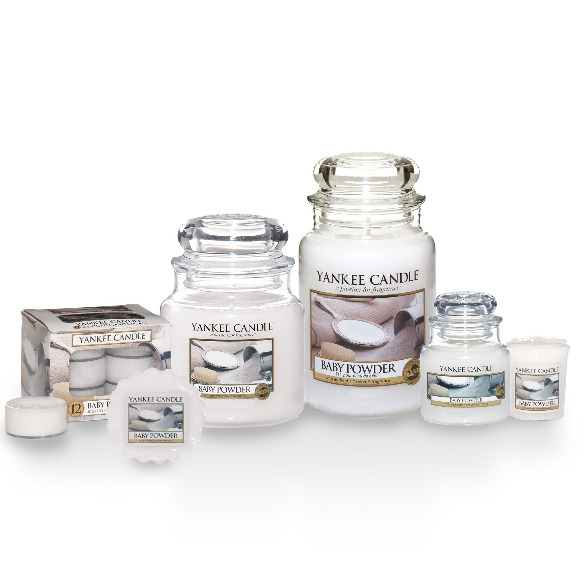 BABY POWDER -Yankee Candle- Giara Media