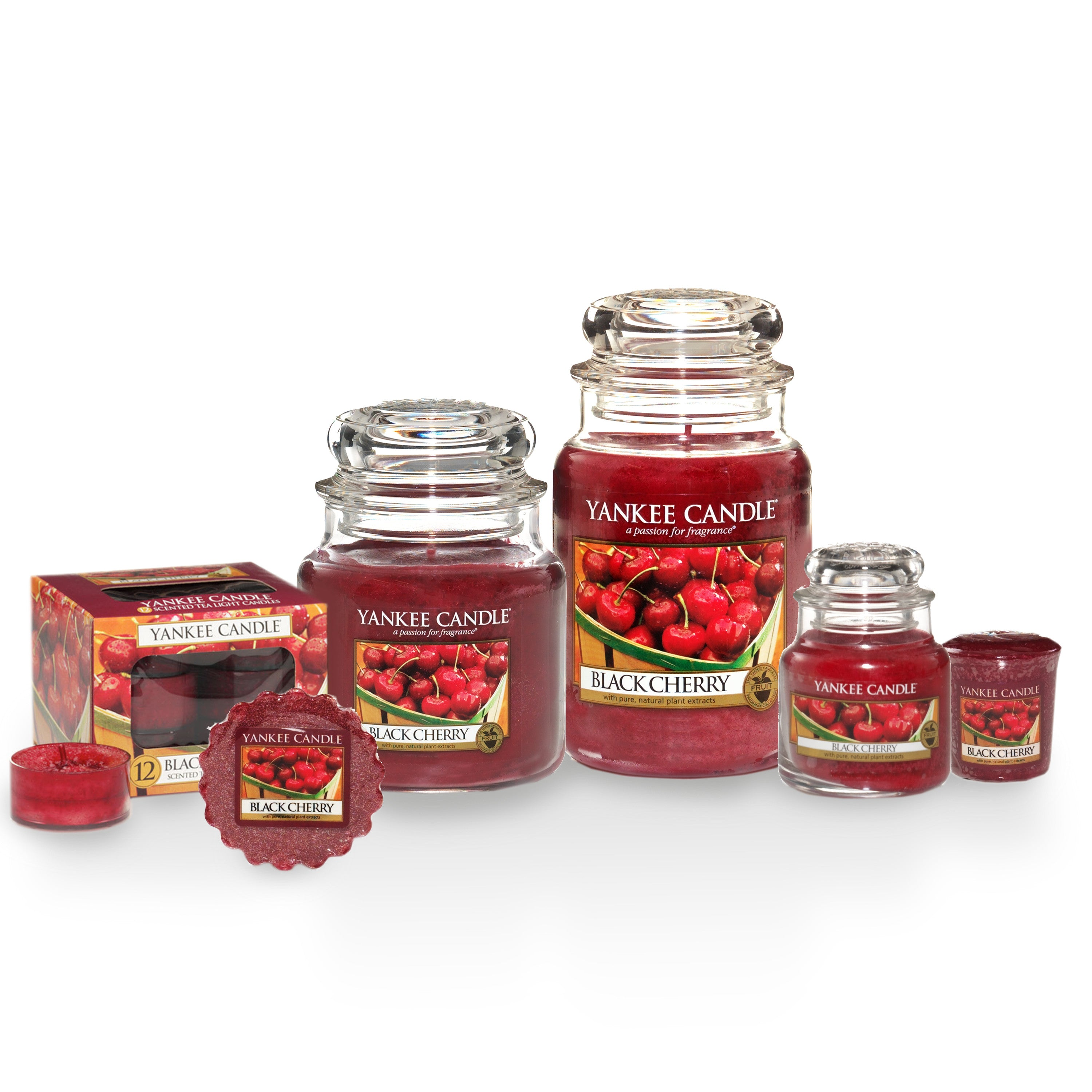 BLACK CHERRY -Yankee Candle- Giara Piccola
