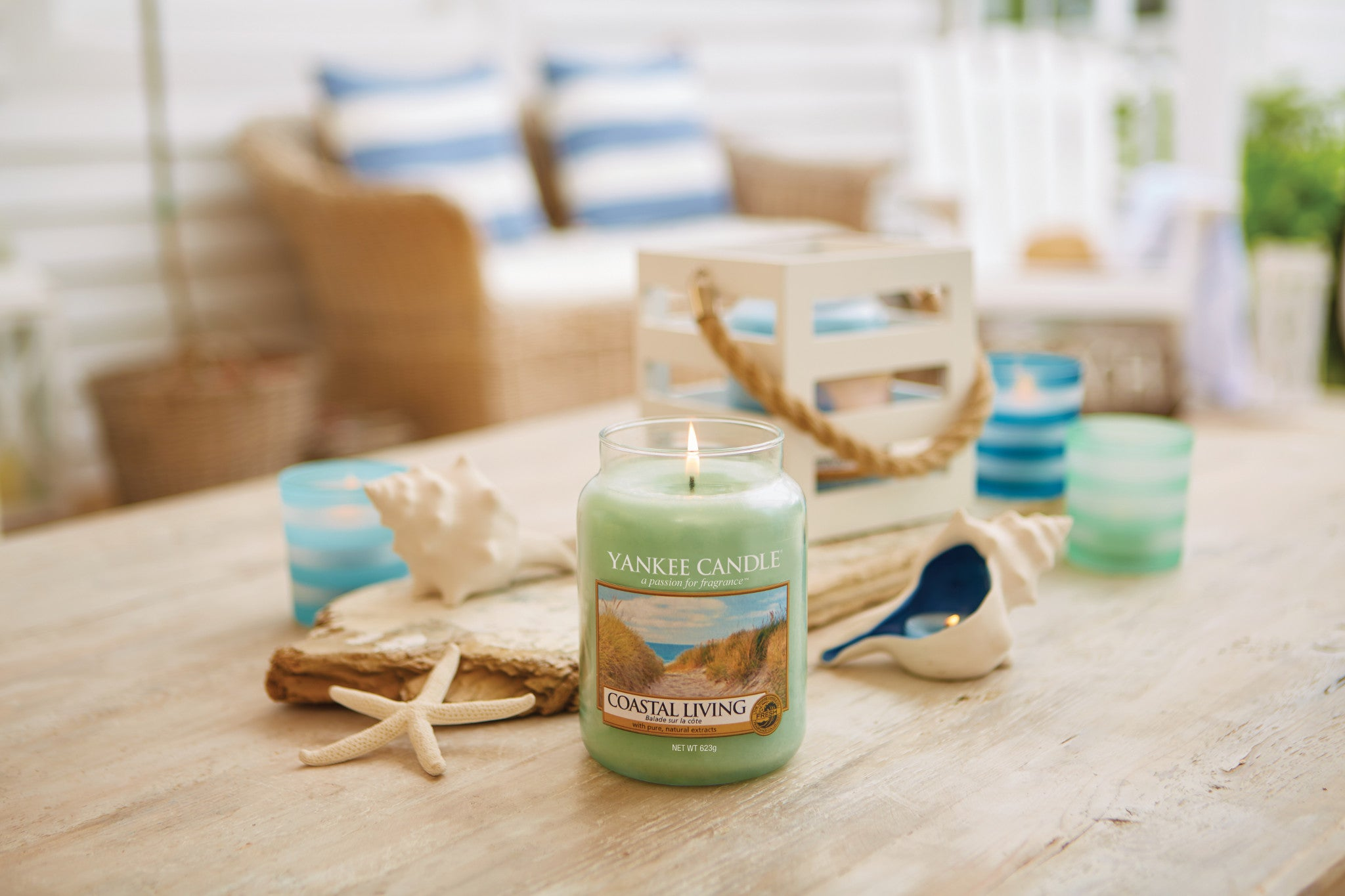 COASTAL LIVING -Yankee Candle- Giara Media
