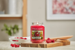 RED RASPBERRY -Yankee Candle- Giara Grande