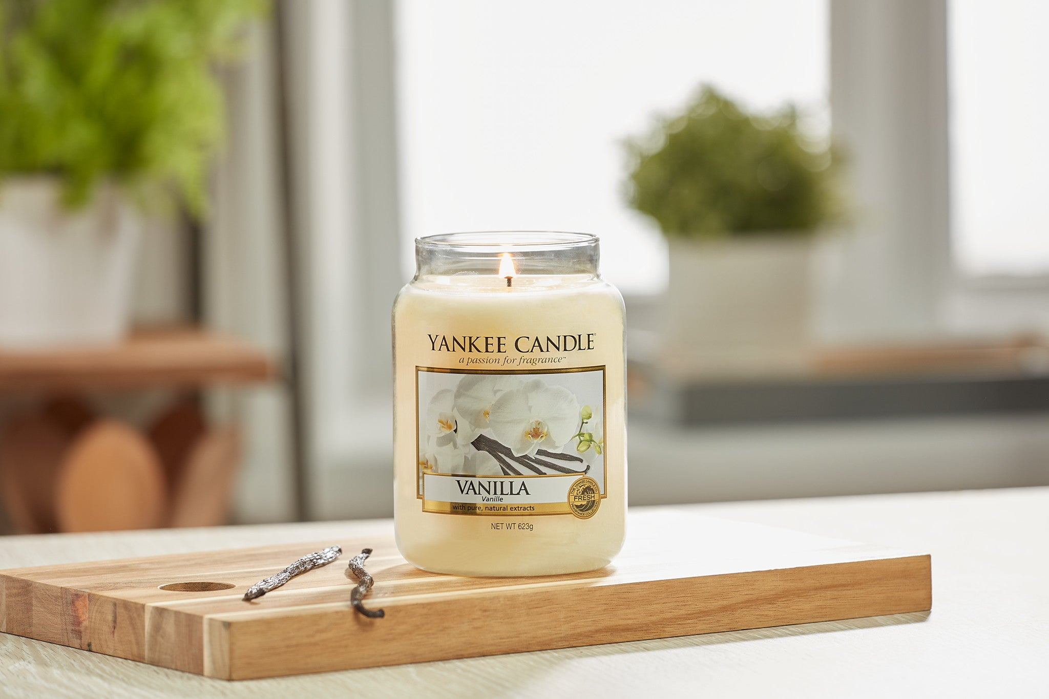 VANILLA -Yankee Candle- Giara Media