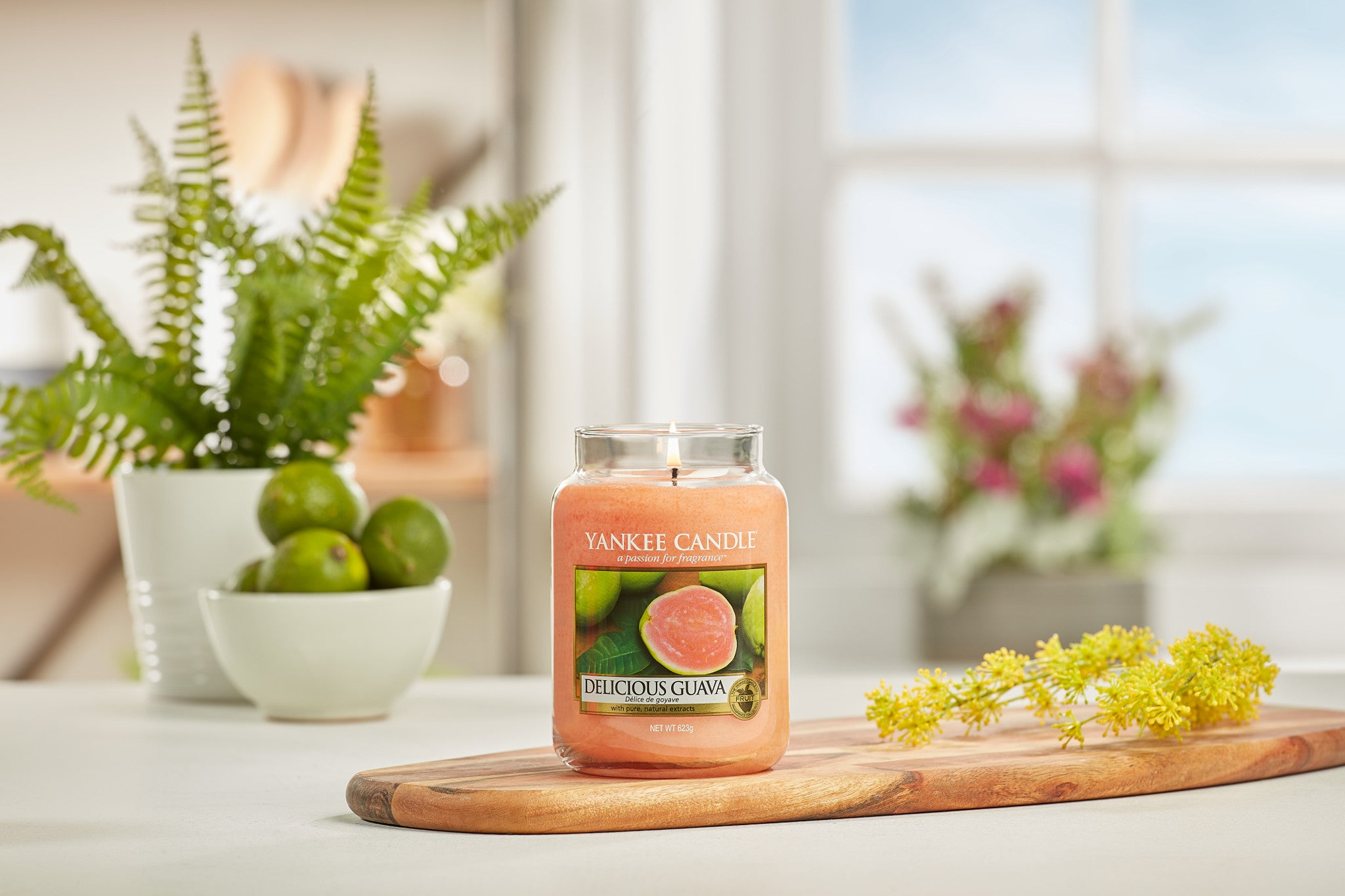 DELICIOUS GUAVA -Yankee Candle- Tea Light