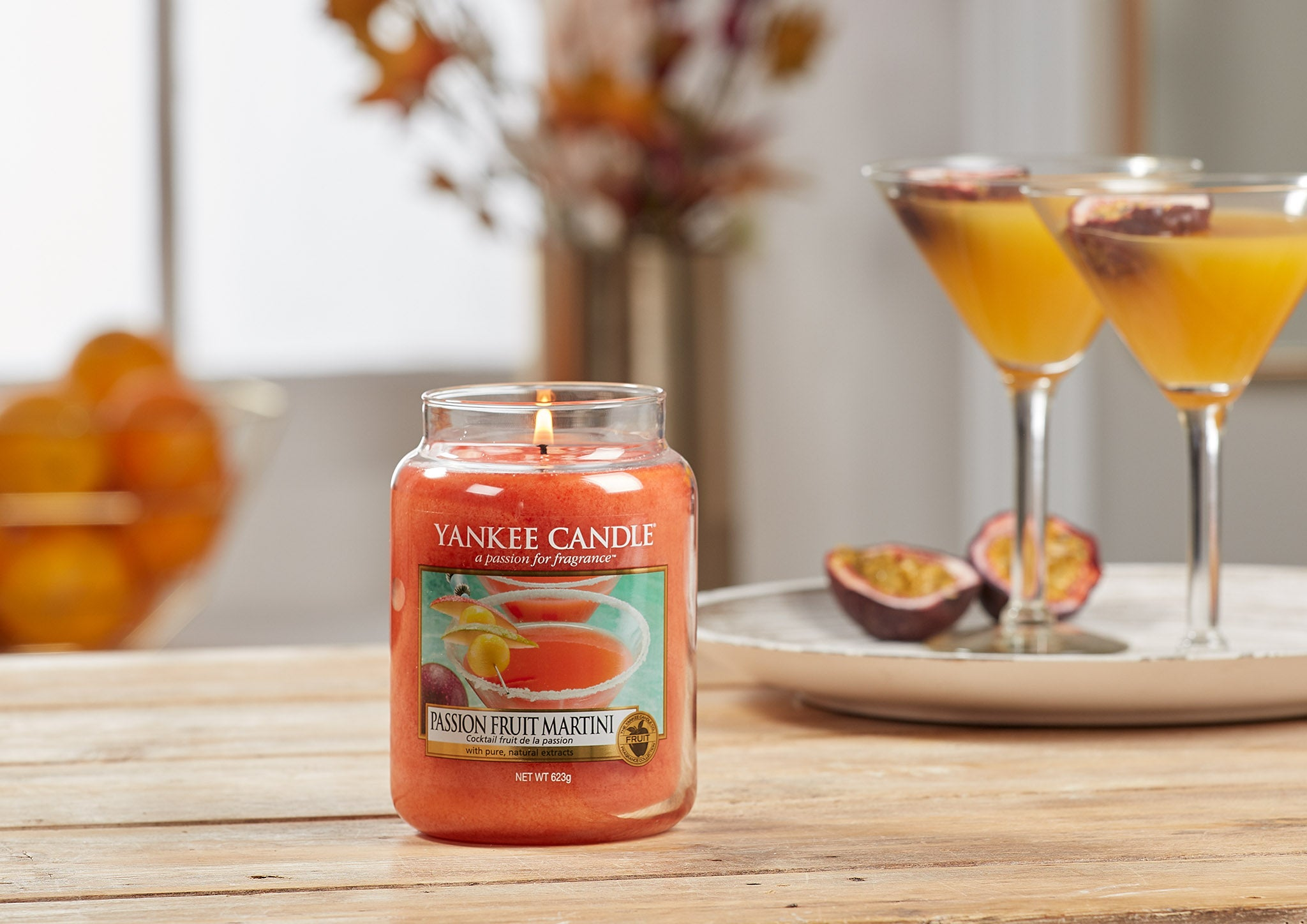 PASSION FRUIT MARTINI -Yankee Candle- Tea Light