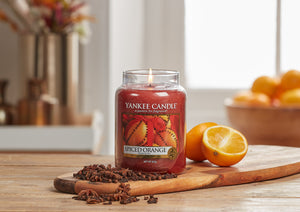 SPICED ORANGE -Yankee Candle- Giara Media