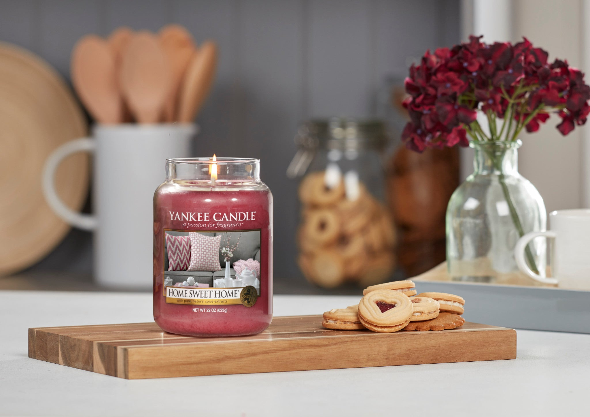 HOME SWEET HOME -Yankee Candle- Candela Sampler