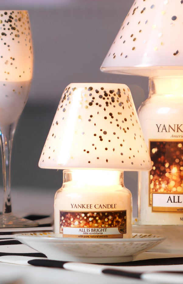 HOLIDAY PARTY -Yankee Candle- Paralume e Piatto Piccolo