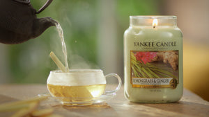LEMONGRASS & GINGER -Yankee Candle- Giara Media