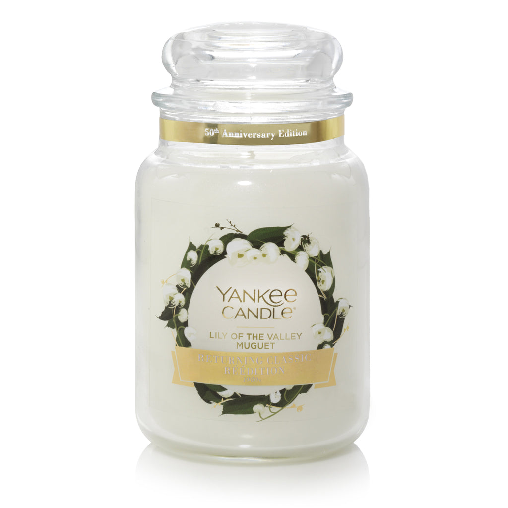LILY OF THE VALLEY -Yankee Candle- Giara Grande