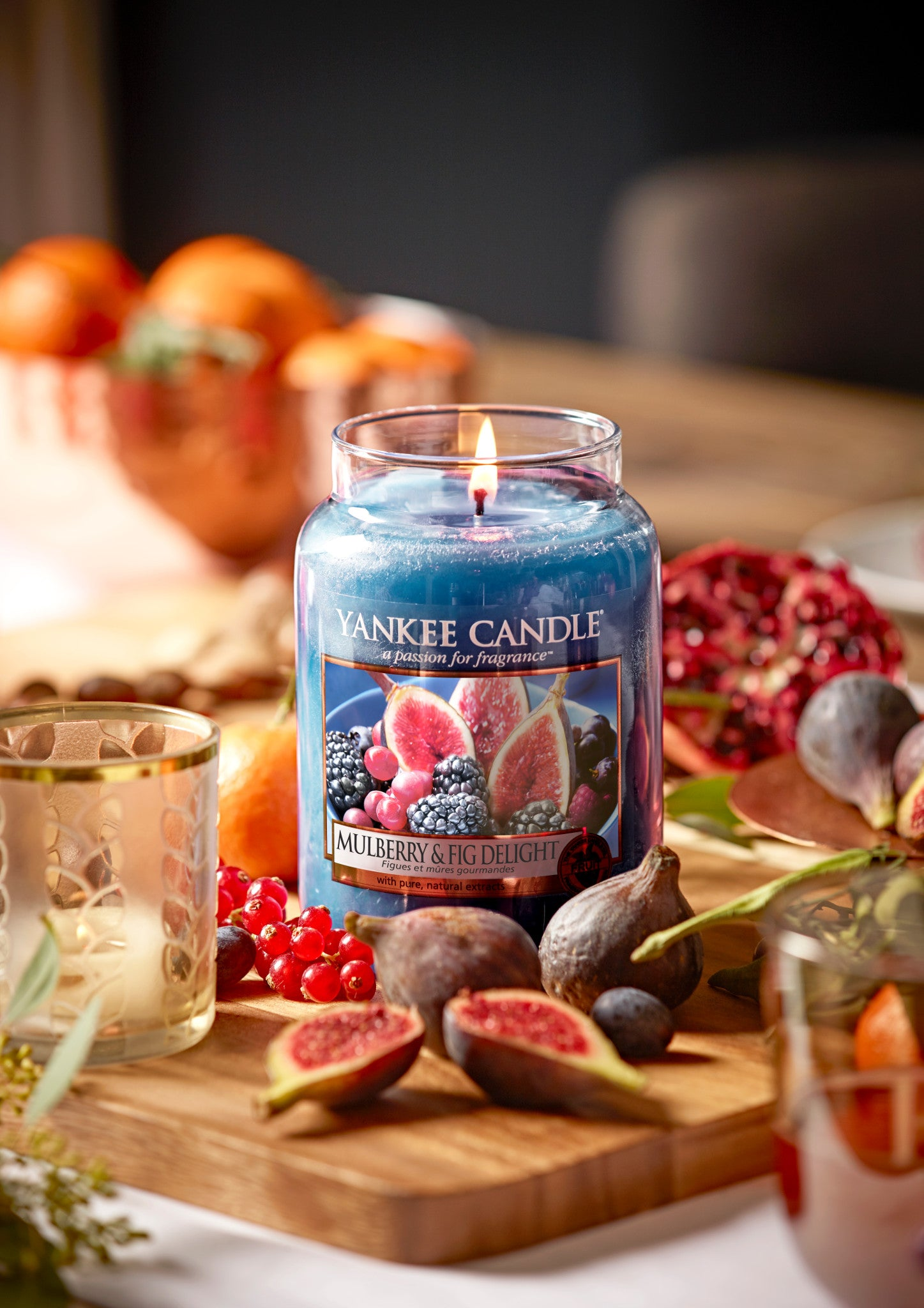 MULBERRY & FIG DELIGHT -Yankee Candle- Giara Piccola